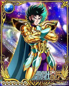 Gold Saint Capricorn Shura 1 Galaxy Cards version Saint Seiya Legend of Sanctuary