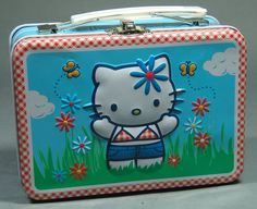 This tin lunch box measures 5.5 by 4 by 2.75 inches and is just wonderful! 2011.
