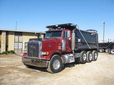 Semis Truck for Sales Peterbilt   USED 1998 PETERBILT Heavy Duty Trucks - Dump for sale