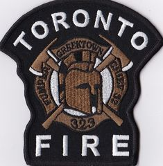 Toronto Fire Dept. Patch Ontario  Canada patch NEW