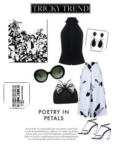 """Untitled #227"" by krismonet ❤ liked on Polyvore featuring Givenchy, TIBI, C/MEO COLLECTIVE, Prada, Oscar de la Renta, By Lassen, Jorge Adeler, Miss KG, TrickyTrend and culottes"