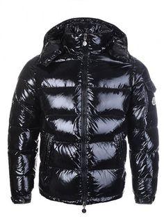 Moncler Maya Men Black Jacket