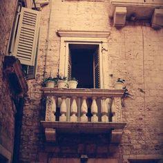 Spanish style balcony