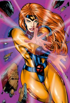 Jean Grey by Ed Benes color by tony058.deviantart.com on @deviantART