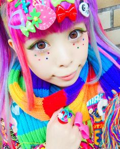"5,728 Likes, 43 Comments - Haruka Kurebayashi (@kurebayashiii) on Instagram: ""Off to go #today #decora #harajuku #kawaii"""