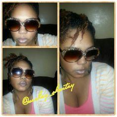 DIY sunglasses. I love doing this stuff