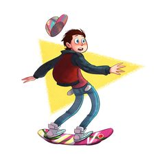 Marty's got a Hoverboard on Behance