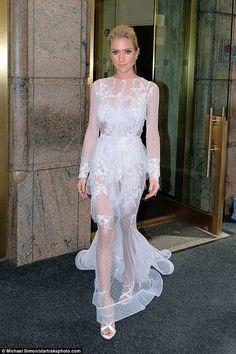 Kristin Cavallari channels Kim Kardashian for Met Gala #dailymail