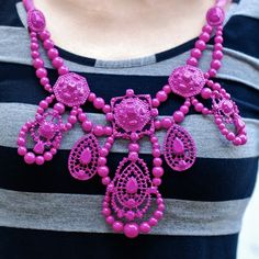 SHOP bib necklaces here.