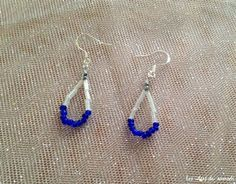 boucle oreille perles rocaille