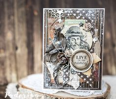 Vintage Card - Paulina Monasterska-Tronina - Stempelglede :: Design Team Blog