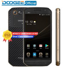 "DOOGEE S30 5"" IP68 Waterproof 5580mAh Side fingerprint Dual camera 5V/2A 2GB RAM 16GB ROM Smartphone  Price: $148 & FREE Worldwide Shipping  #gadgets #gadgetsale #newtech #gadgethawk #freeworldwideshipping #thegadgethawk #toptech #electronics #onlinegadgets #ecommercetech"