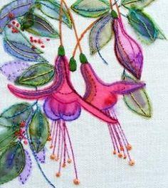 Cross Stitch Kits, Cross Stitch Charts, Embroidery & Tapestry Kits - Very Crafty Ribbon Embroidery, Embroidery Stitches, Embroidery Patterns, Free Motion Embroidery, Free Machine Embroidery, Tapestry Kits, Creative Textiles, Lesage, Creative Embroidery