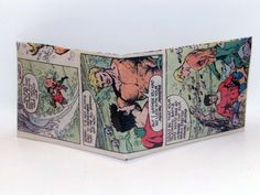 Comic Book Wallet// Aquaman and Aqualad, $4.00