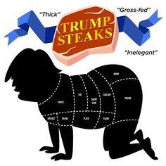 Daily Drumpf no. 8 Trump Steaks