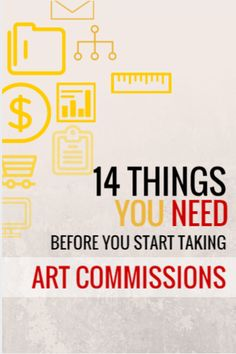 14 Things Your Need Before You Start Taking Art Commissions