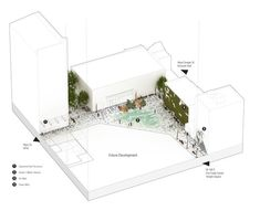 6970+ Revitalization Project Competition Entry,Main Plaza