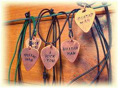 LaVita Music Gifts: Nuevas púas-cobre personalizadas.