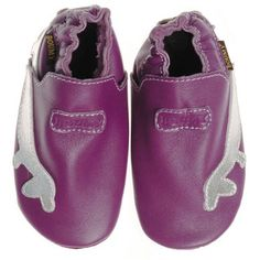 Boumy Leather Shoe Purple now featured on Fab.