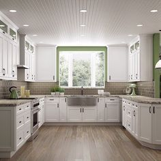 Frosted White Shaker Kitchen Cabinets Frosted White Shaker Kitchen Cabinets - RTA Kitchen Cabinets F White Shaker Kitchen Cabinets, Kitchen Cabinets For Sale, New Kitchen, Kitchen Decor, Kitchen White, White Cabinets, Rta Cabinets, Stylish Kitchen, Kitchen Ideas