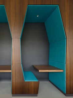 Ippolito Fleitz Group has developed the new design of hotel chain Motel One's headquarters in Munich, Germany.