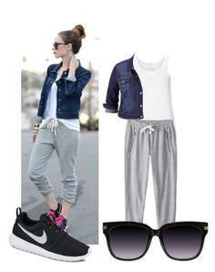 """""""Untitled #32"""" by stylememint ❤ liked on Polyvore featuring Zhenzi, maurices and NIKE"""