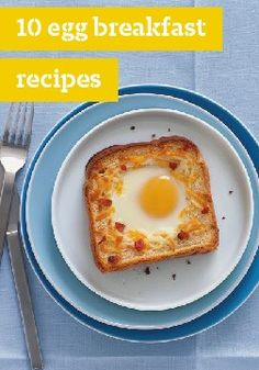 10 egg breakfast recipes – Get your day cracking with these delicious breakfast recipes.