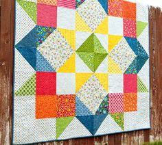 Moda LOVE - Free Pattern (Quilting Patterns and Tutorials)