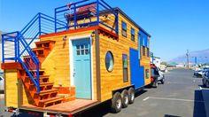 The Most Beautiful Tiny Ski House   Tiny House On Wheels    Tiny House L...