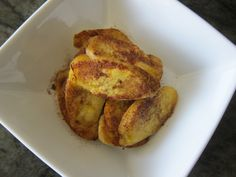 Fried Plantains with Cinnamon