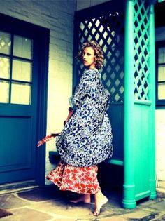 Natalie Martin Kimono Natalie Martin, Pattern Fashion, Dress Collection, Printing On Fabric, Print Patterns, Kimono, Women Wear, Street Style, Style Watch