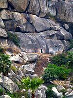 Barabar Caves - ancient hermitages of Ajivika ascetics