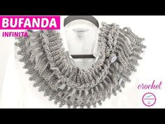 Good evening everybody, crocheters who love elegant and beautiful scarfs, this is often another nice chance to create an infinity collar scarf with their own hands in just a brief amount of your time. In this easy free instruction you can learn how to make Crochet infinity collar scarf.