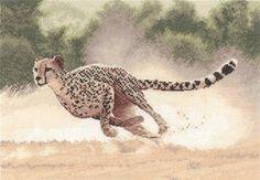 Cheetah - John Clayton Cross Stitch