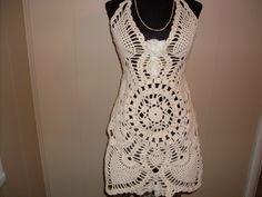 Gypsy Boho bohemian  lace vintage upcycle halter by SummersBreeze, $44.00