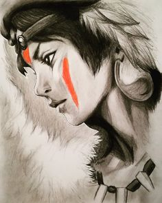 Princess Mononoke by Seydou-96.deviantart.com on @DeviantArt