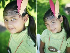 Feather headband die by Lifestyle Crafts. #thanksgiving