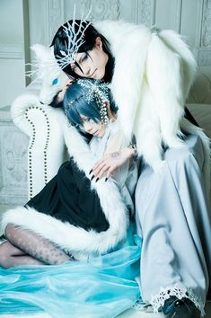 Sebastian + Ciel cosplay | Black Butler Kuroshitsuji #anime