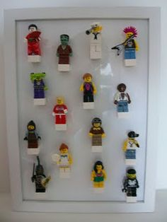lego storage..Kayd would love this for all his mini figures!