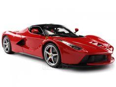 """Diecast Cars :: Ferrari :: Ferrari LaFerrari """"Signature Series"""" 1:18 Scale - Bburago Diecast Model (Red)"""