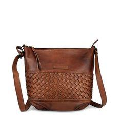 UMHÄNGETASCHE NICE leder rot-braun - manbefair Brown Leather Crossbody Bag, Bronze, Rind, Small Shoulder Bag, Small Bags, Saddle Bags, Zipper, Purses, Accessories