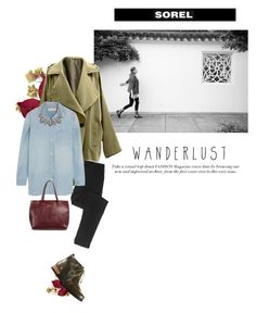 the major collection from sorel: contest entry by maria-maldonado on Polyvore featuring polyvore, fashion, style, Madewell, SOREL, Under One Sky, Deepa Gurnani, Crate and Barrel, contestentry and sorelstyle