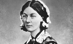 Florence Nightingale advocated fresh air from open windows to prevent infections in her Notes on Nursing in 1859. Photograph: Bettmann/Corbi...