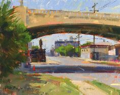 Santa Fe Ave by Jennifer McChristian Oil ~ 8 x 10