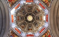 The cathedral dome (Salzburg) Salzburg Austria, Beautiful Architecture, Dom, City Photo, Poster, Europe, Let It Be, Explore, Mirror