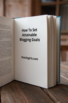 Are you ready to see your blog grow? Then it is time to start setting blogging goals that are real and attainable. Goal setting is a skill that we all need to develop. These tips will help you get started - especially tip #2