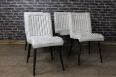 Style Leather Chair In Clay Dining Chairs Pinterest Reproduction Furniture And