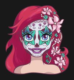 Sugar skull Ariel