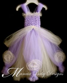 Sofia The First Inspired Tutu Dress / Sofia by ManaiaBabyDesigns, $42.00