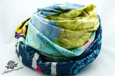 Loop Schal Rundschal bunt von Lieblingsmanufaktur: Farbenfrohe Loop Schals, Tücher und mehr auf DaWanda.com